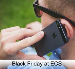 Black Friday savings at ECS