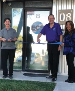 Ribbon cutting ceremony at ECS Western Region Distribution Facility in Las Vegas